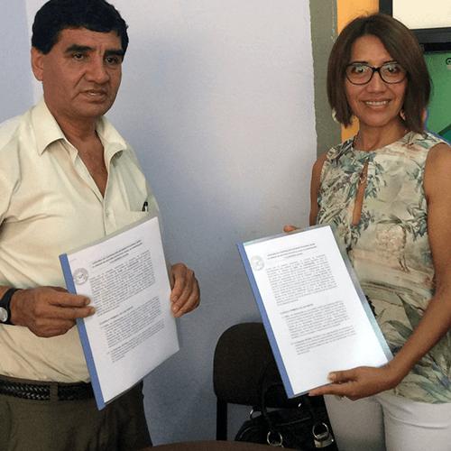La firma del convenio aicasa - ugel sirve para lograr una participaciòn más activa con los centros rurales de formación alterna (crfa)