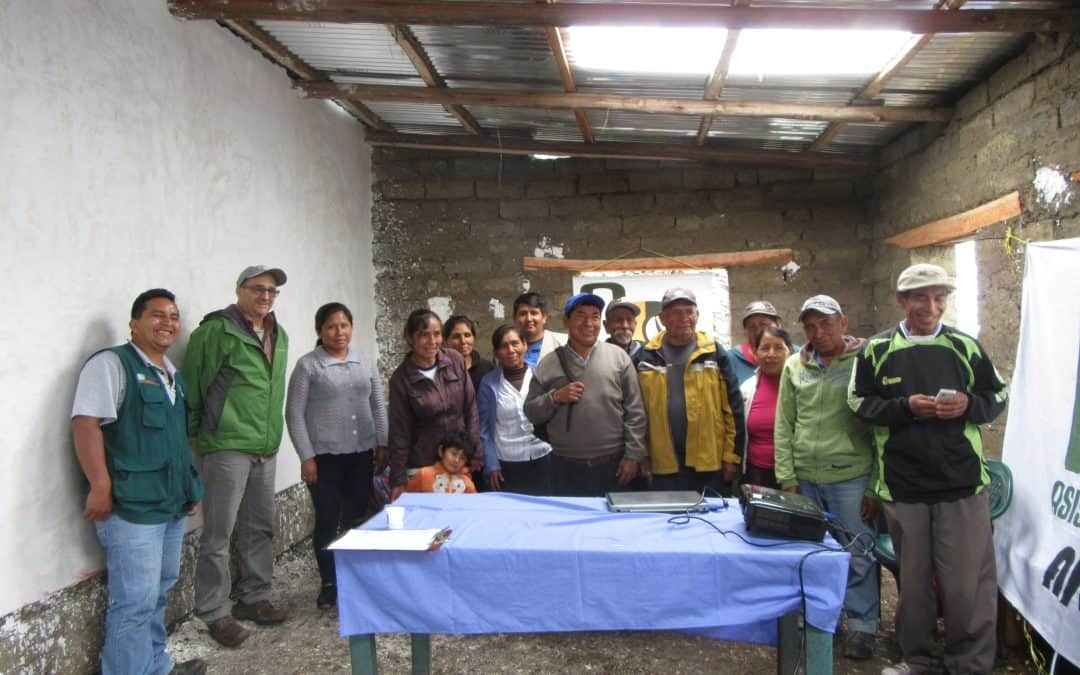 Taller de productividad con representantes de Rainforest Alliance