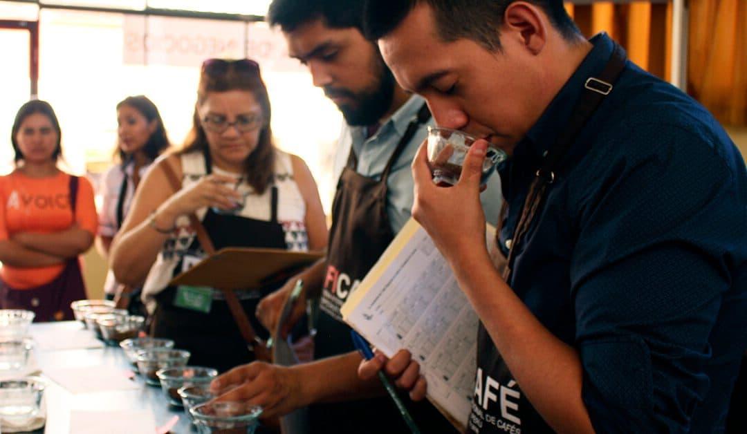 La I Feria Internacional de cafés especiales del Perú.