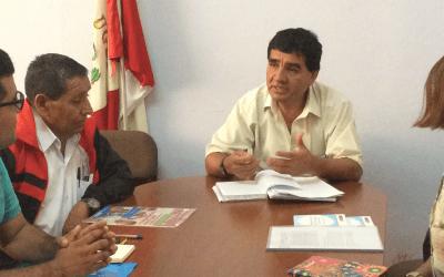 CONVENIO DE PARTICIPACIÓN ACTIVA CON CRFA (Firma del convenio Aicasa – UGEL)
