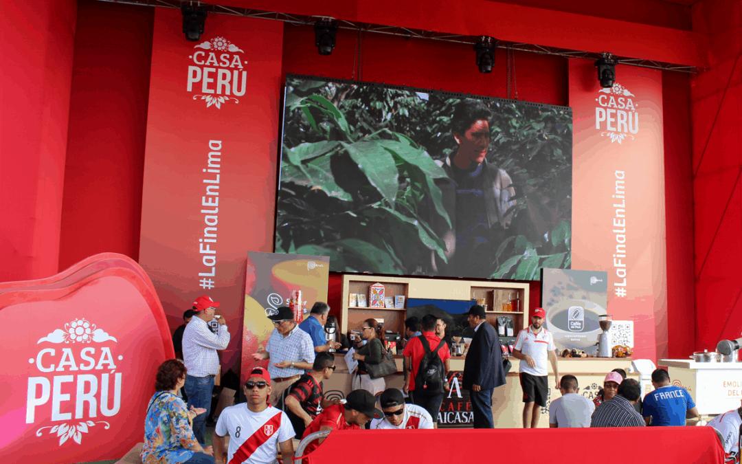 DEGUSTACIÓN DE CAFÉ AICASA EN LA FINAL DE LA COPA LIBERTADORES 2019